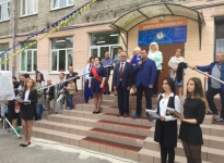 Депутат Петросов Олег Эдуардович 1 сентября