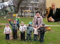 Колодяжный Александр Николаевич. Игровая площадка в детском саду № 54 открылась при поддержке депутата А. Колодяжного.