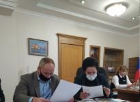 совещание у Главы администрации Е. И. Дятловой по обсуждению планов развития Чкаловска в 2021 году (декабрь 2020)