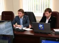 Сагайдак А. С. На заседании депутатской комиссии.