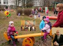 Колодяжный Александр Николаевич. В детском саду № 83 благодаря инициативе Александра Колодяжного появилась новая детская площадка.